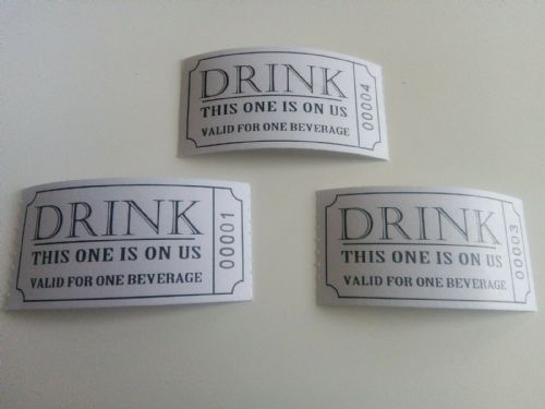 Free Drink Tickets 50pk